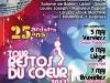 TOUR RESTOS DU COEUR 2011 - Affiche